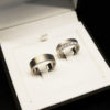 Titanring med 12x0,09 ct briljanter