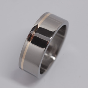 Straight around inlay 8mm