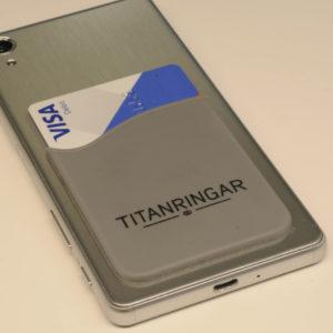 Mobilficka titanringar